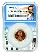 1999 S Lincoln Penny NGC PF70 RD Ultra Cameo - White House Core