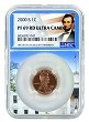 2000 S Lincoln Penny NGC PF69 RD Ultra Cameo - White House Core