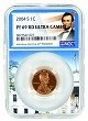 2004 S Lincoln Penny NGC PF69 RD Ultra Cameo - White House Core