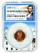 2005 S Lincoln Penny NGC PF69 RD Ultra Cameo - White House Core