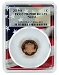 2019 S Proof Lincoln Proof Penny PCGS PR69 RD - Flag Frame
