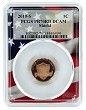 2019 S Proof Lincoln Proof Penny PCGS PR70 RD - Flag Frame