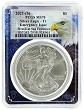 2021 (s) Emergency Production Silver Eagle PCGS MS70 - Eagle Frame