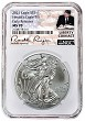 2021 1oz Silver American Eagle NGC MS70 - Early Releases - Liberty Coin Act Label